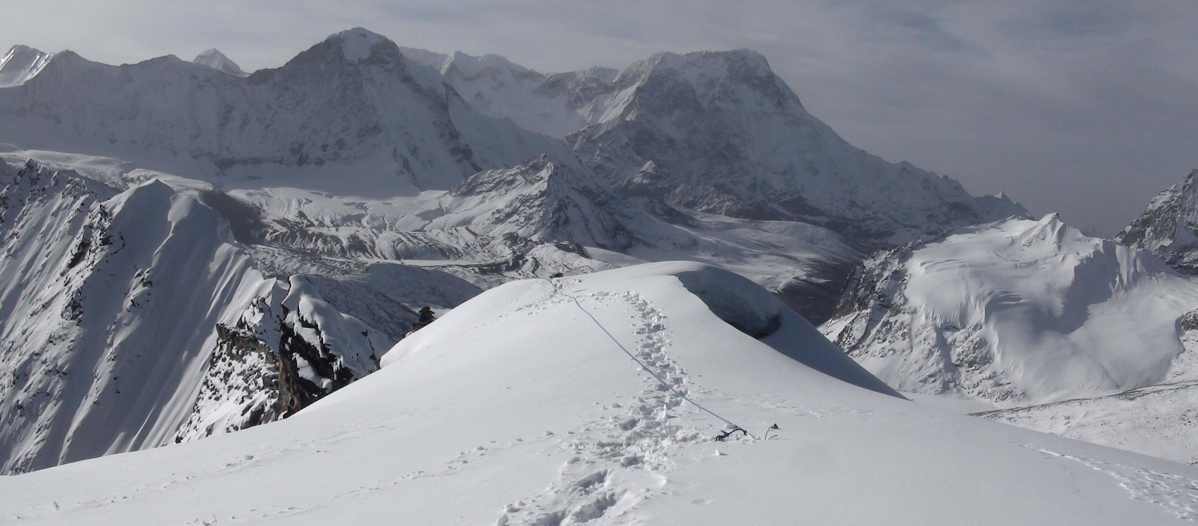 Three peaks climbing