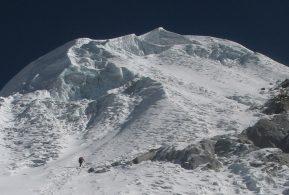 lobuche east climb