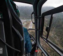 Landing at Lukla