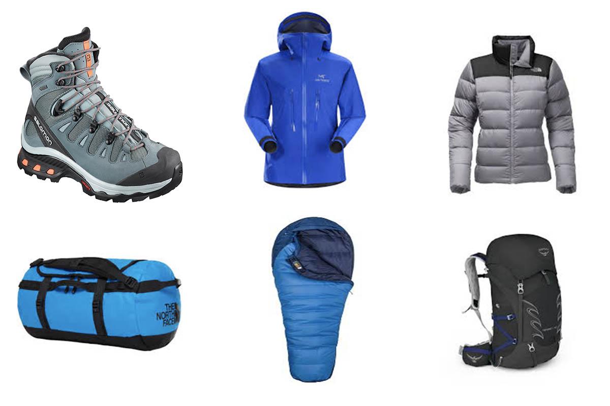 equipment checklist for everest base camp trek
