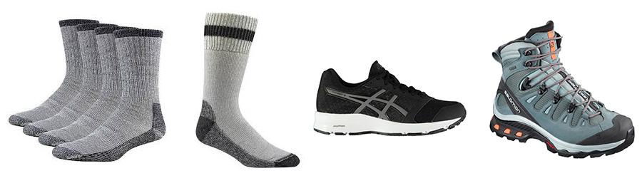 footwear for trekking