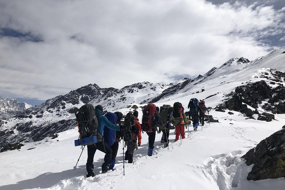 Winter high passes