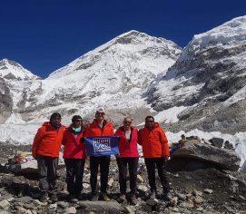 Company for Everest base camp trek